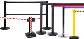 Retractable Belt Barrier