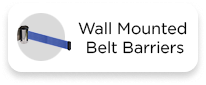 Wall Mounted Belt Barriers