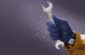 Handskar mot kyla