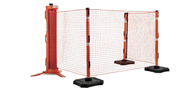 Portable Safety Barrier Fence
