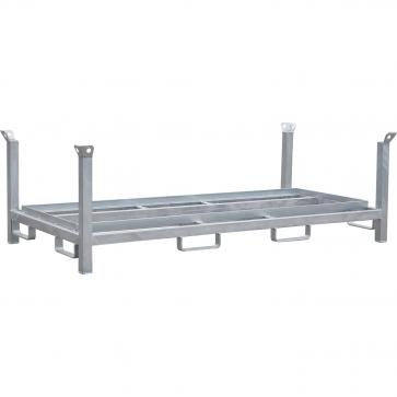 Storage and transport rack for base plates