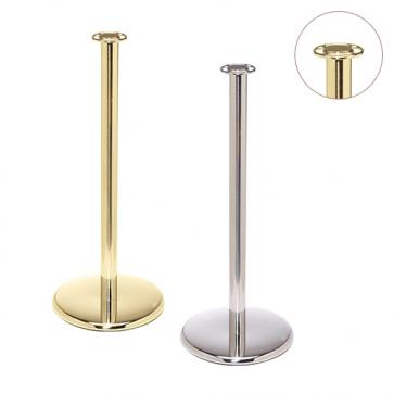 Flexibarrier Post & Rope Barrier -Premium Flat Top-