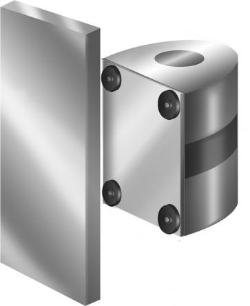 FlexiBarrier Wall Mount -Magnetic- (2.3 - 10.7 m belt)