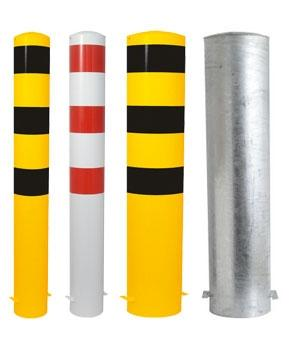 Safety bollard -Extra- for casting in concrete (Ø108-273mm)