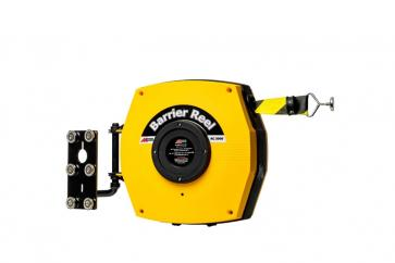 Retractable Safety Barrier Reel -Magnetic- Heavy duty barrier belt with magnets (15-25m)