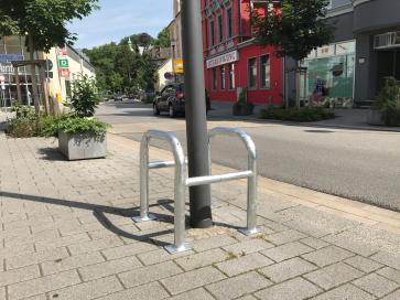 Blocking Car Barriers, Steel Tube Ø 60 / 48 mm