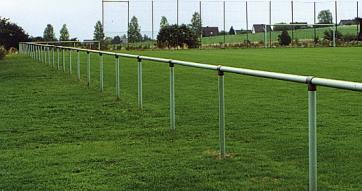 Football Pitch Spectator Barrier -Steel-