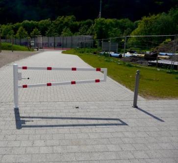 Swiveling gates