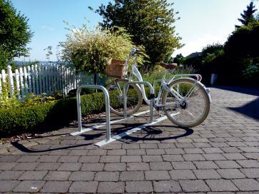 Bicycle Lean-on Rack