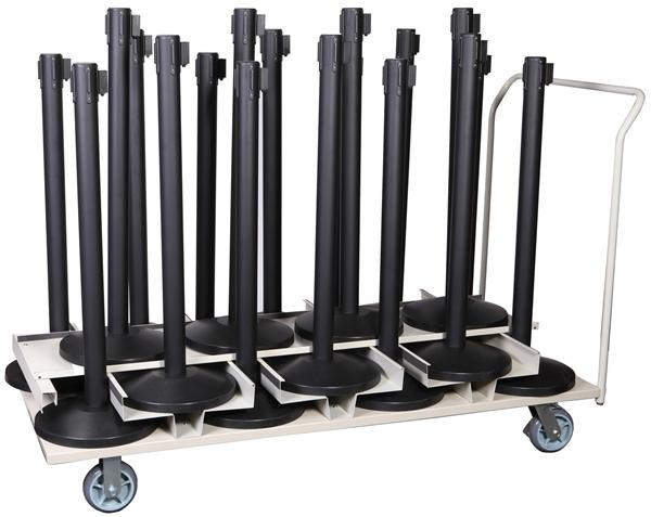Buy Barrier package-Event- 18pcs posts + transport trolley