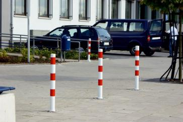 Removable bollard with ground socket, without locking mechanism (Ø60)