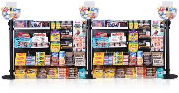 Flexibarrier Queue Merchandising Panel system