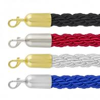 Barrier rope - Braided 25mm - with snap-ends