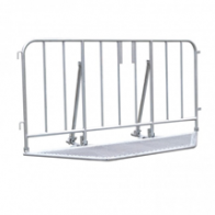 Stage barriers -Police- package with stacking frame (22,5m)