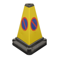 Road Cone - No Parking
