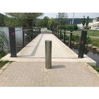 Stainless Steel Post Ø 154 mm-204mm, Removable with Triangular Lock