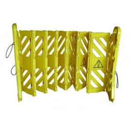 Flexibarrier - Portable & Expanding Barrier - with wheels (4m)