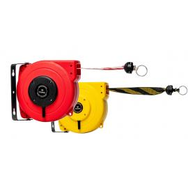 Flexibarrier Safety Barrier Reel - Heavy duty barrier belt (9-18m)