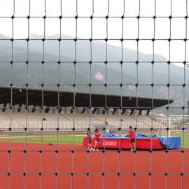 Black Plastic Safety Mesh Fence - C-FLEX - (100m roll)