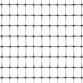 Black Plastic Safety Mesh Fence - CINTOFLEX E - (100m roll)