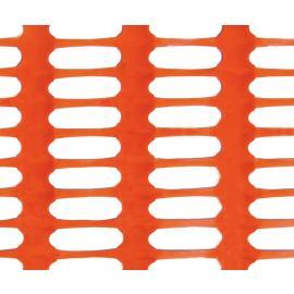 Orange Plastic Safety Mesh Fence -SNOW DRAGON- (50m roll)
