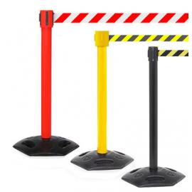 FlexiBarrier Belt Stanchion -Outdoor 500- (4.9m belt)