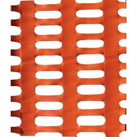 Orange Plastic Safety Mesh Fence -PROFESSIONAL PLUS- (30m roll)