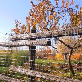 Sliver Plastic Safety Mesh Fence - MILLENNIUM - (50m roll)