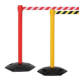 FlexiBarrier Belt Stanchion -Outdoor 250- (3.4m belt)