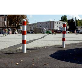 Steel bollard -Standard- for casting into concrete (Ø60-102mm)