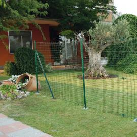 Green Plastic Safety Mesh - RANCH - (50m roll)