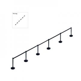 Stanchion package Route (6x3m belt)
