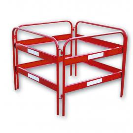 Utility barrier - Safety guard-