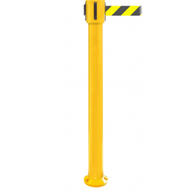 FlexiBarrier Belt Stanchion -SafetyPlus Fixed- (3.4m/4.9m/10.6m belt)