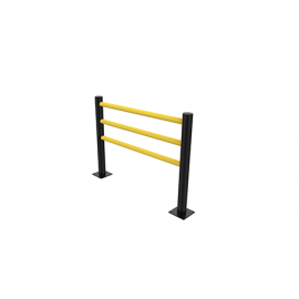 Flexible Pedestrian Barrier -Delta-