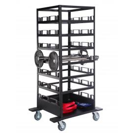 21 Post Storage Cart