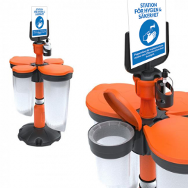 Skipper - Station för hygien & säkerhet - Komplett kit