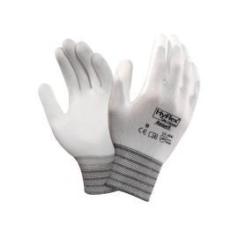 Ansell's HyFlex® Lite, PU-handske, halv-doppad, sömlös.