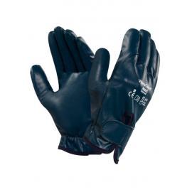 Anti-vibrationshandske med kardborreförslutning.