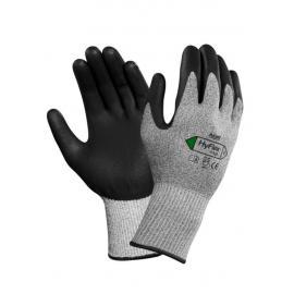 Ansell's HyFlex®, skär-beständiga handske av vatten-baserad polyuretan på foder av Dyneema och Lycra.