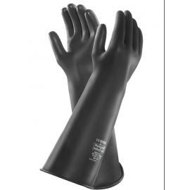 Ansell's Emperor, kraftig, svart latex-handske, 43,2 cm.
