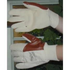 Ansell's Oil Tuf, oljegrepps-handske av nitril och frotte', stickad mudd.