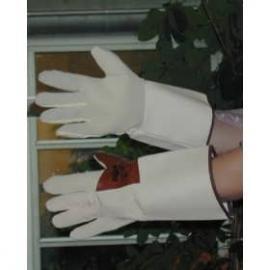 Ansell's Oil Tuf. Olje-avvisande handske av nitril, greppyta av frotte'. Skyddskrage.