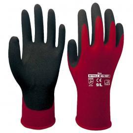 D-S's lätta montering-handske av nitril, god fingerkänslighet, stickad mudd.