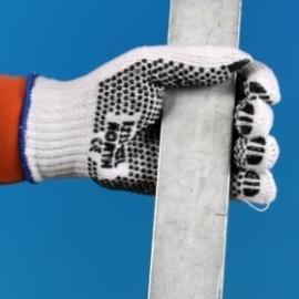 NORTH's Loblon med PVC-noppror - polyester och bomull, K211.