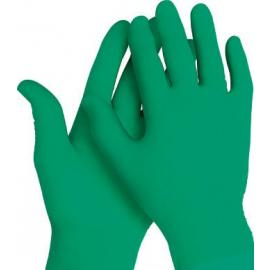 Kimberly Clark's Kimtech Science. Ultratunn av nitril, puderfri, grön engångshandske, 24,0 cm. lång.