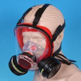 BLS's helmask med två filter, 300-serien.