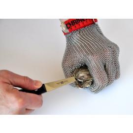 Sperian by Honeywell's Chainex (M), skär-resistent handske av rostfritt stål.