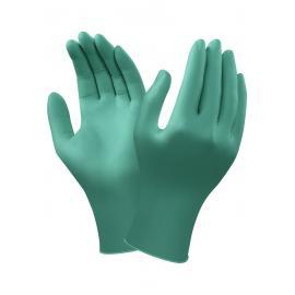 Ansell's TouchNTuff®. Puderfria, släta engångshandske av nitril, 24,0 cm. lång.