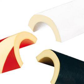 Rörskydd -Protect- Knuffi® av PU, olika profiler, självhäftande och nötningsbeständig